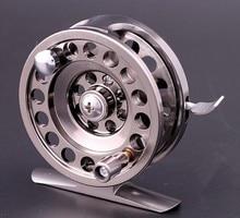 Full metal ice fishing Reels ultra-light former wheel fly fishing reel CNC Machined Aluminum gear