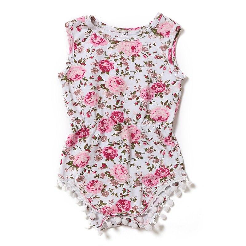 2016 Summer Newborn Girl Bodysuit Infant Clothing Newborn