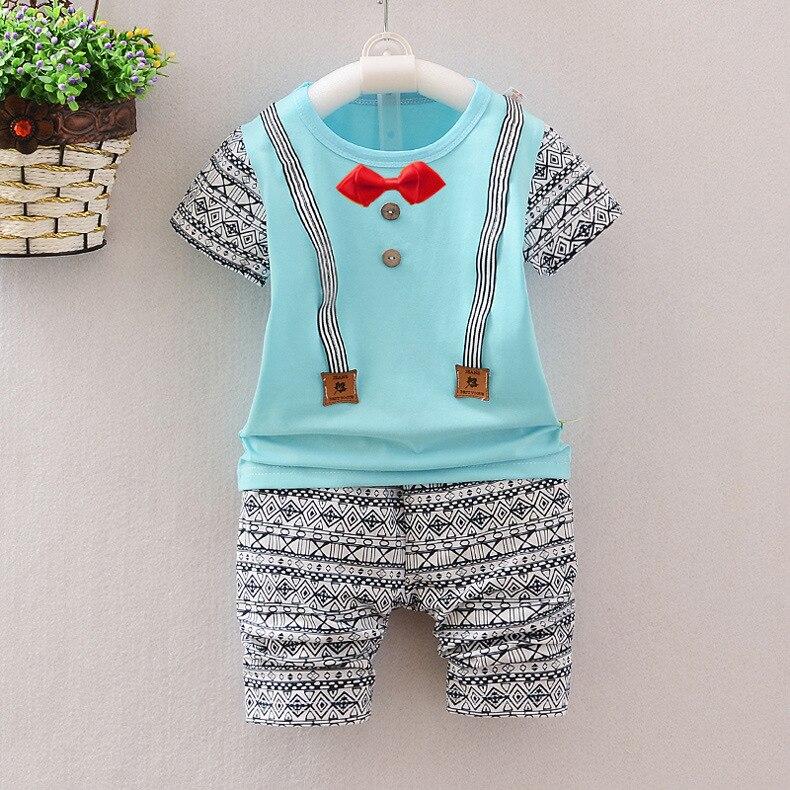New Kids Summer Infant Clothing Toddler Boys Clothing Baby Boy ...