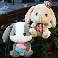 Plush doll 1pc 40cm cartoon sweet Bonny bunny rabbit radish cake soft hold animal home decoration stuffed toy baby gift