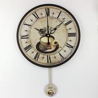 Modern coffee large decorative wall clocks mute Home decoration kitchen wall clock fashion wall watches orologi parete