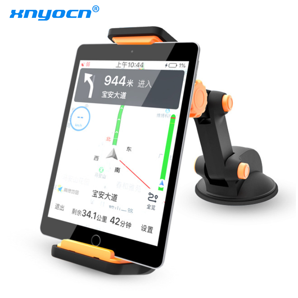Xnyocn Tablet PC Phone Stand for Xiaomi IPAD Air Mini 1 2 3 iPhone 12 Pro X 8 7 4-11 Inch Strong Suction Car Holder Mount