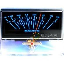 P-97 High-precision Amplifier AMP Pre-stage VU Meter Head DB Peak Level Meter Sound Pressure Meter with Backlight