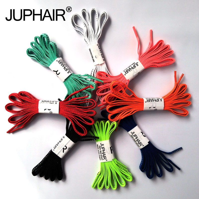 JUP 8 Pairs Unisex Wholesale Reflective Shoelaces Visibility Flat Shoelaces Runnings Cycling Safty Casual Shoes Shoelaces Cords