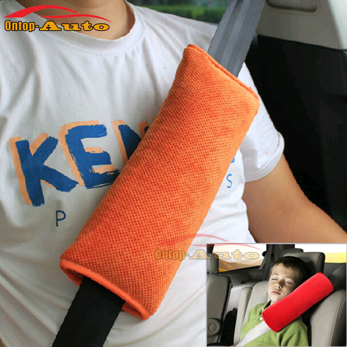 Car Large Baby Safety Seat Belt Sleep Harness Shoulder Protection Cover Auto Children Pillow