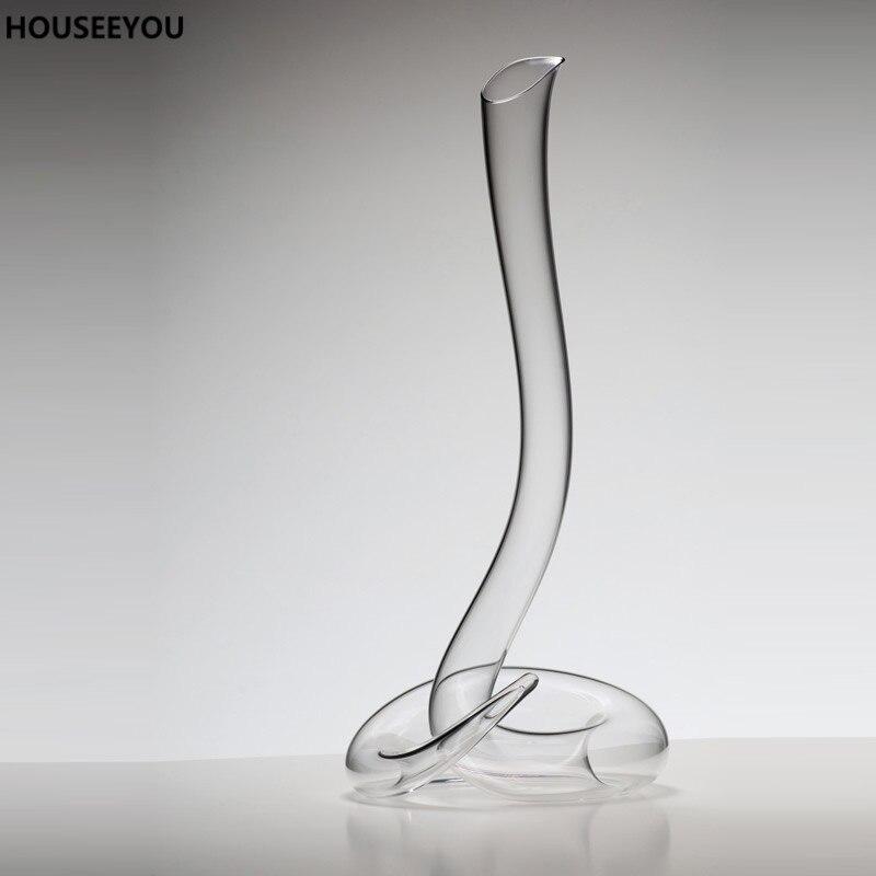 Gezonde loodvrij Kristal Glas Decanter Wijn Decanter Handgemaakte Mondgeblazen Transparant Glass Bar Benodigdheden Keuken Bar Sets-in Keraf van Huis & Tuin op  Groep 1