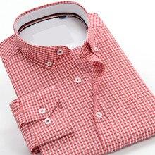 Men s long sleeve cotton dress Shirt fashion super large summer casual  extra big goods manufacture plus size M-8X9XL10XL f5849aff448b
