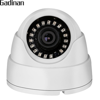 GADINAN 1080P 2MP 2.8mm Lens Indoor Dome IP Camera HI3518E 15fps Surveillance Camera ONVIF Motion Detection Email Alert XMeye