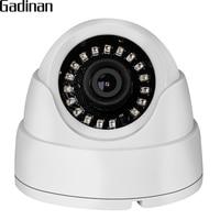 GADINAN 1080P 2MP 2.8mm Lens Indoor Dome IP Camera HI3518E 15fps Surveillance Camera ONVIF Motion Detection Email Alert XMeye