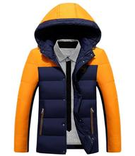 Men Winter Coats Fashion Casual Hooded Male Warm Thick Padded Outdoors Ultra Light Down Jacket Men Clothing Parka Outwear 3xl