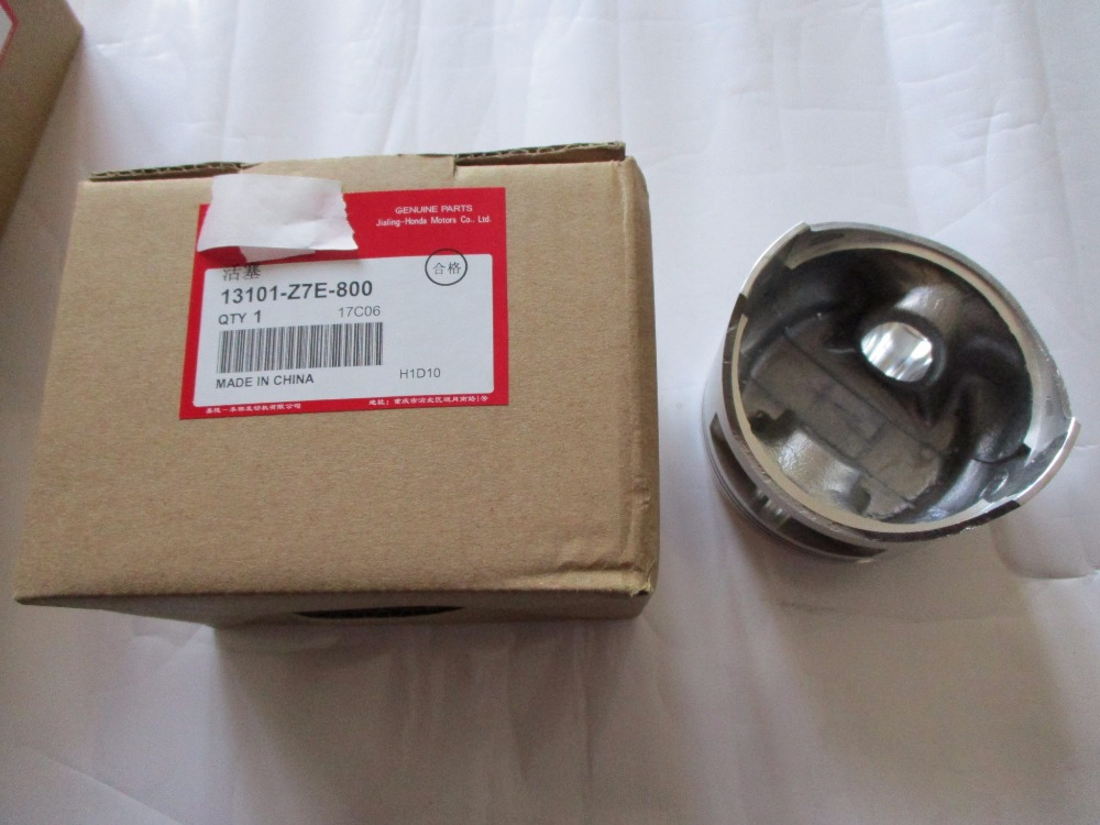 13101-Z7E-800 PISTON FIT FOR GX390 JIALING HONDA GASOLINE ENIGNE SPARE PARTS hyvst spare parts piston bushing for spx150 350 1501053