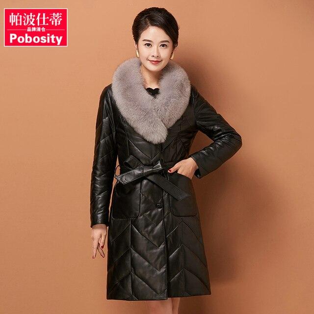 Femmes doudounes marques canada doudoune femme veste femmes réel fourrure  de renard manteau femmes en peau 9488743189c