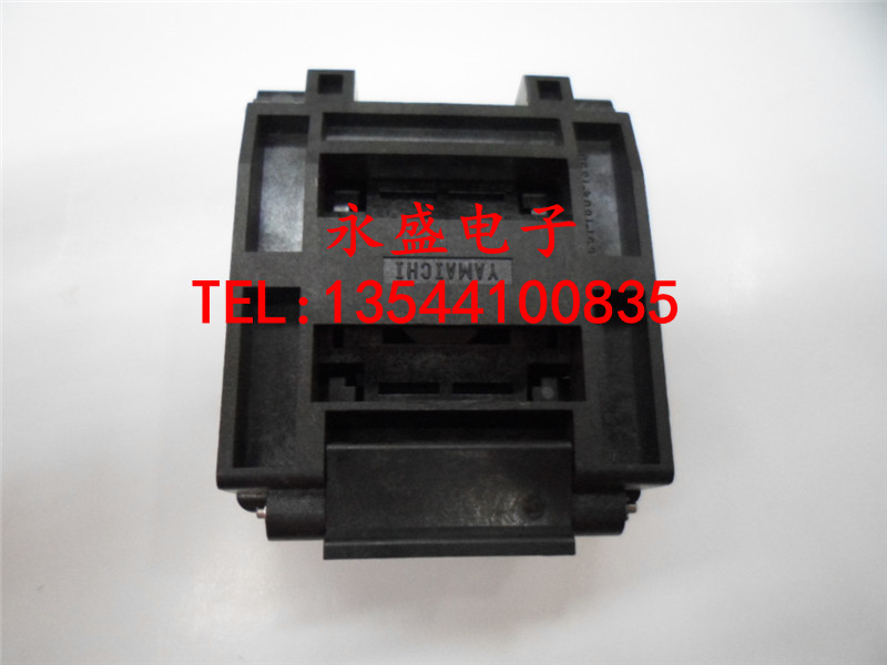 Imported IC test socket burning seat QFP176 TQFP176 LQFP176 spacing: 0.4MM  FREESHIPPING bosch фен bosch phd5714 2000вт розовый