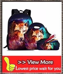 3 pcs sets school bag backpack