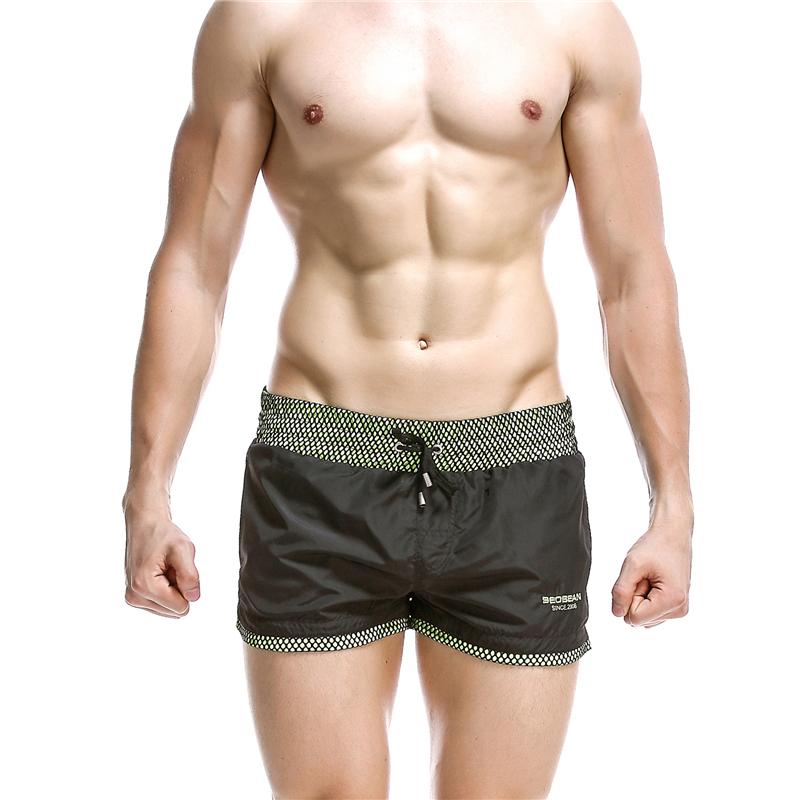New SEOBEAN men's shorts sold spotrs shorts Quick Drying  Shorts Beach Shorts hot sell 6 colors size S/M/L/XL