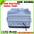 RF High Power GSM 900mhz 30Watts 45dbm 85dbi cellular mobile/cell phone signal repeater booster amplifier detector