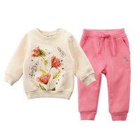 Children S Baby Boys Girls Sports Suit Two Pieces Of Children S Clothes In Autumn And