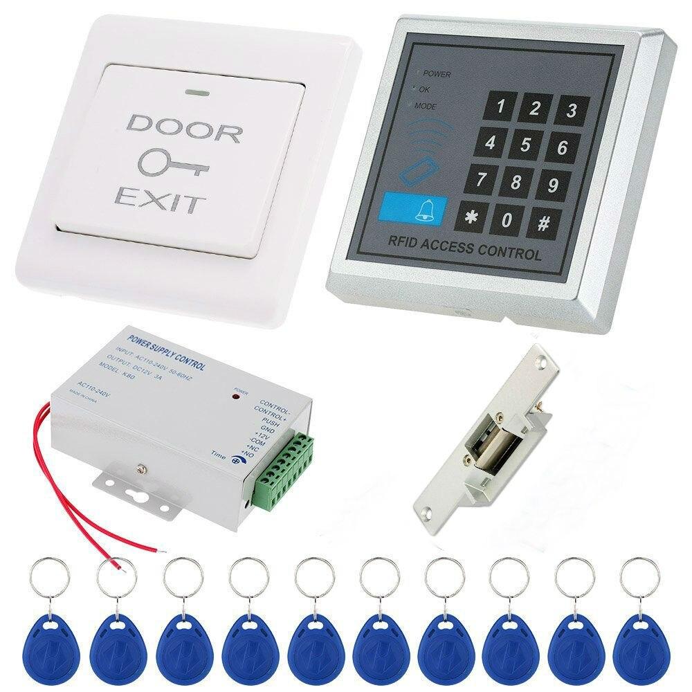YobangSecurity RFID mot de passe électronique magnétique serrure de porte télécommande système de contrôle d'accès d'entrée de porte avec alimentation