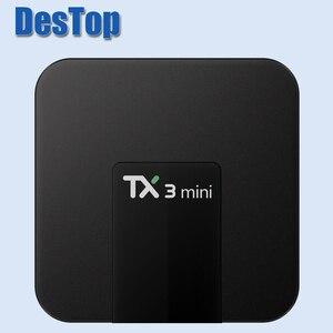 Image 3 - TX3 Mini TV BOX 5pcs/lot TX3 MINI Android TV Box Android 8.1 Amlogic S905W KD 17.3 1GB 8GB TX3 Mini TV Box 5pcs with DHL
