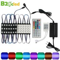 DC12V SMD 5050 IP65 Waterproof 20pcs/lot LED Module Lights Light Lamp RGB 3 leds Lighting High quality Advertising Light