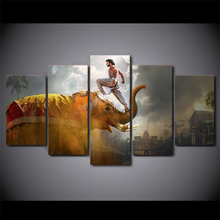 Wholesale 5 Pieces/set Movie Poster Series painting large canvas print wall art modular on decoration/Free Shipping