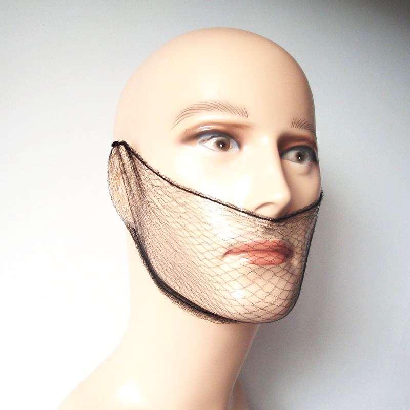 ᗑ】Nylon al por mayor barba cubierta redecilla desechable 20 ...