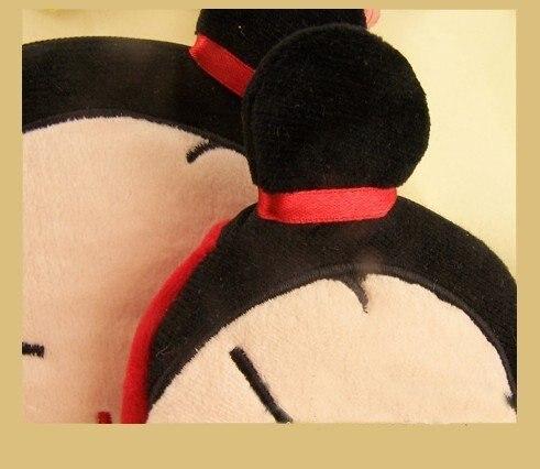 6 шт. Kawaii Кошелек для монет плюшевые сумки кошелек сумочка; подвеска на цепочке кошелек сумка чехол для хранения кошелек сумка