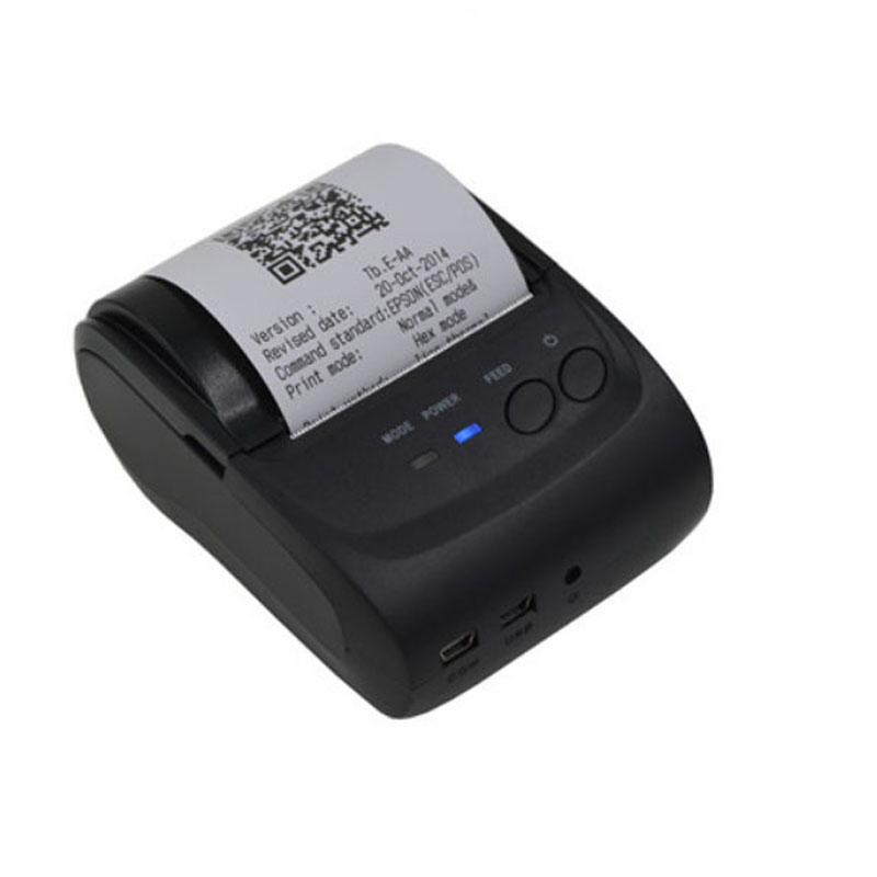 Mobile mini cheap pos printer 58mm bluetooth thermal portable receipt printer support android IOS pos system printer 5802Mobile mini cheap pos printer 58mm bluetooth thermal portable receipt printer support android IOS pos system printer 5802