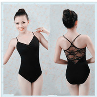 Ballet practice uniforms Adult gymnastic leotards for girls and women leotard lace back dance costume