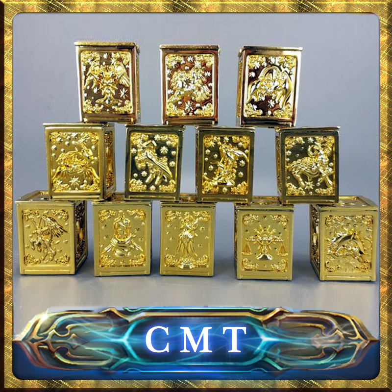 CMT Jacksdo Saint Seiya Soul of Gold Pandora boxes full set cmt jacksdo saint seiya soul of god bronze pandora boxes full set