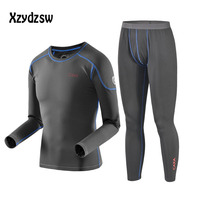 2016 Brand Thermal Underwear Men Winter Long Johns Quick Dry Anti Microbial Stretch Warm Men S