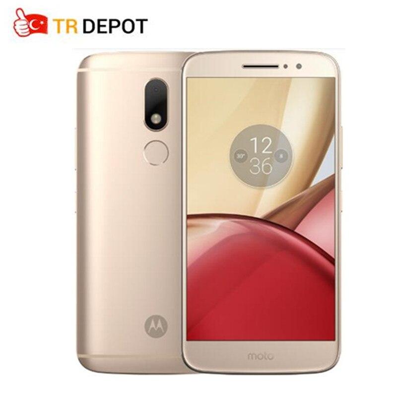 Original Motorola Moto M 4G RAM 32G ROM Octa Core FDD LTE 4G 5.5 1920x1080P 16.0 MP 3050mA Android 6.0Smartphone