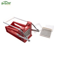 BERGLANDER Home French Fries Potato Chips Strip Cutting Cutter Machine Maker Slicer Chopper Dicer Kitchenware Vegetable