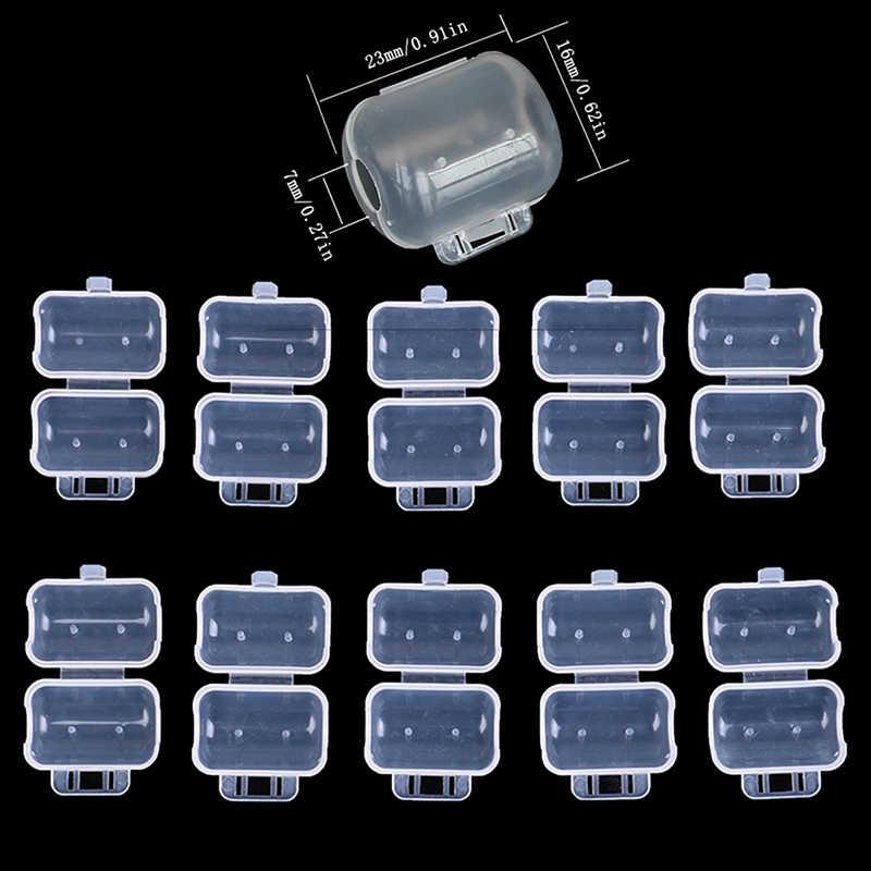 10 Buah/Banyak Udang Jig Cumi-cumi Kait Topi Payung Hook Topi Lapangan Pelindung Memancing Ukuran S M L