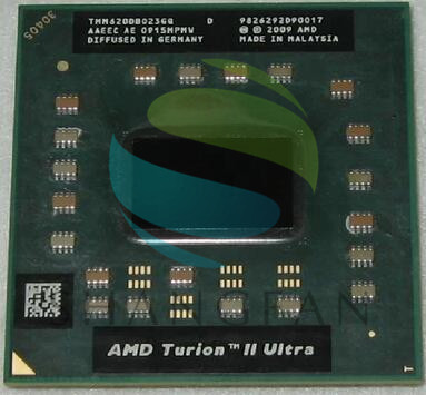 AMD Turion II Ultra Mobile M620 Processor 2.50GHz 2MB L2 Cache Socket S1 (S1g3) PGA638 M620 TMM620DBO23GQ TMM620 Laptop CPU