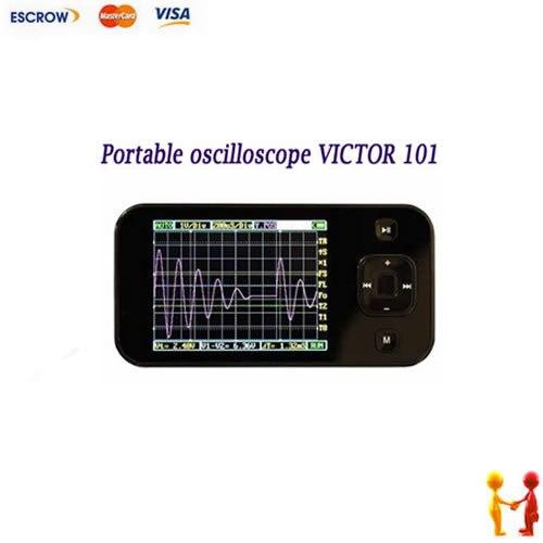 NEW VICTOR101 MIni Handheld Digital Oscilloscope Oscillograph Portable Oscilloscope цена и фото