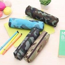 1 шт., камуфляжный военный школьный чехол-карандаш для мальчиков, сумка для ручек, канцелярские сумки для карандашей, школьные принадлежности, канцелярская сумка