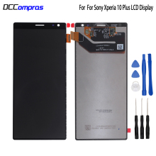 Original For Sony Xperia 10 plus LCD Display Touch Screen Digitizer Assembly For Sony Xperia 10 plus Screen LCD Display Tools lcd display screen touch digitizer screen assembly for sony xperia v lt25 lt25i replacement lcd free shipping