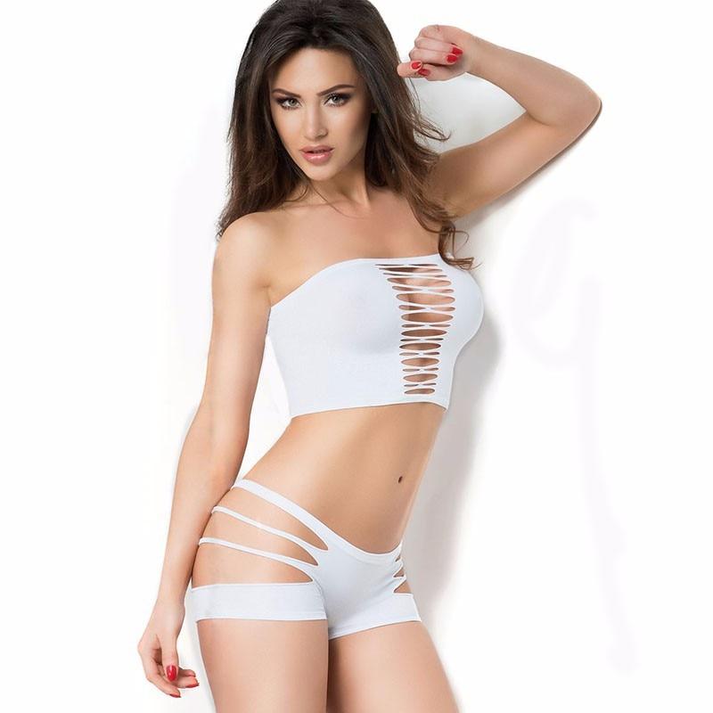 Sexy Women Ladies Girl Bikini Lingerie Set Seamless -8436