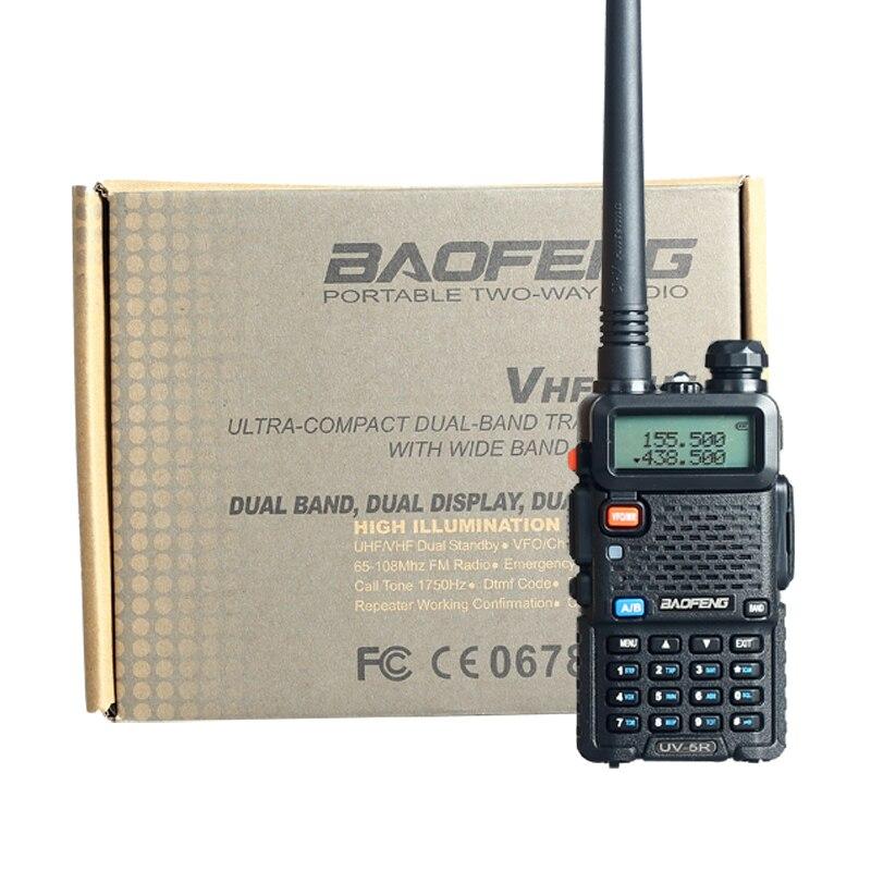 Baofeng UV 5R Walkie Talkie 5W Dual Band Two Way Radio 128CH UHF VHF FM VOX