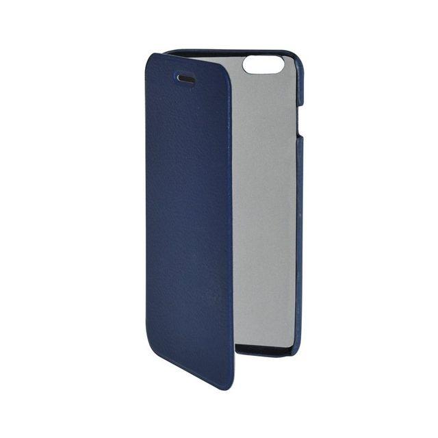 Чехол - флип Clever Case SHELLCASE для iphone 6 (PU, голубой)