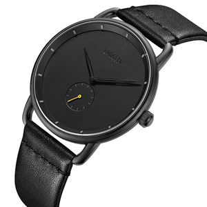 Image 3 - BAOGELA Merk Horloges voor Mannen Lederen Band Casual Business Kleine Seconden Quartz 30 m Waterdicht Mannen Kijken Relogio Masculino 2019