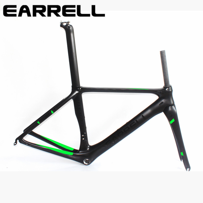 carbon road bike frame  bike frame  fat bike/bicycle brompton  frame cycling frameset with fork Fast Free Shipping