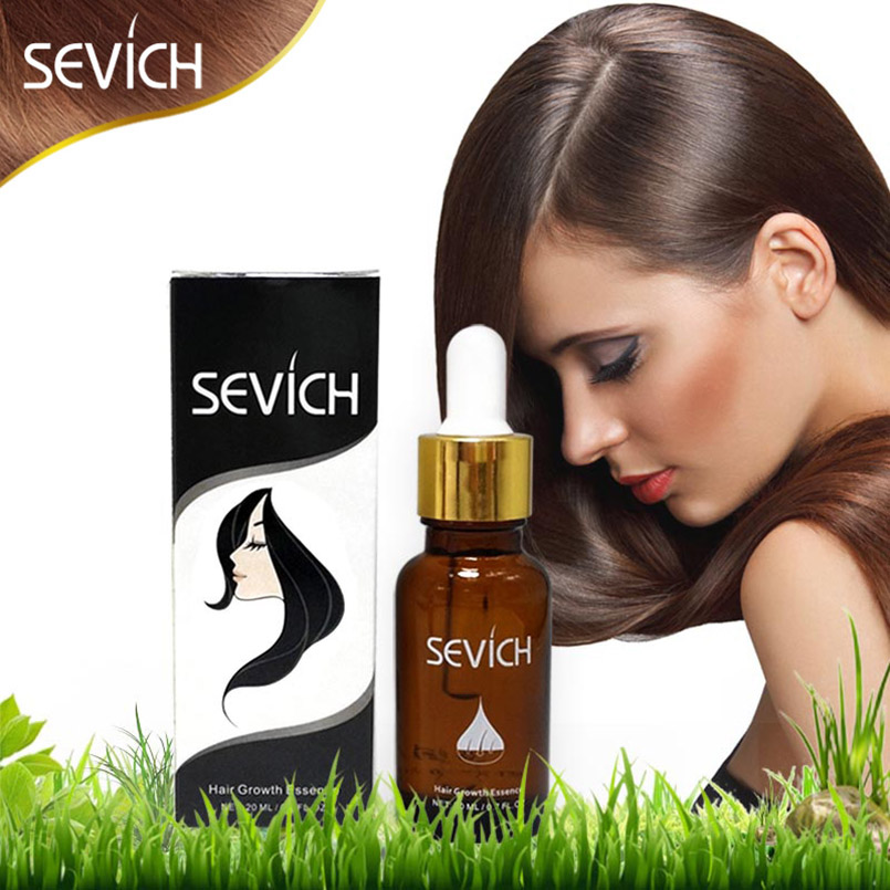 SEVICH 20ml Natural Argan Oil for Hair Care Hair Loss Products Fast Hair Growth Essence Liquid Soft and Shiny Pro Hair Maquiagem