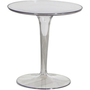 Акриловый столик скандинавский минималистичный креативный модный угловой столик современный маленький круглый стол для обсуждения прозр...