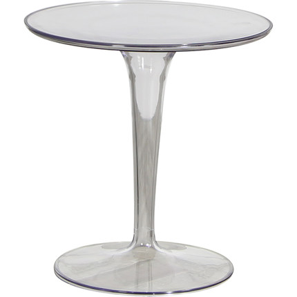 Acrylic Side Table Nordic Minimalist Creative Fashion Corner Table Modern Small Round Table Discuss Transparent Coffee Table