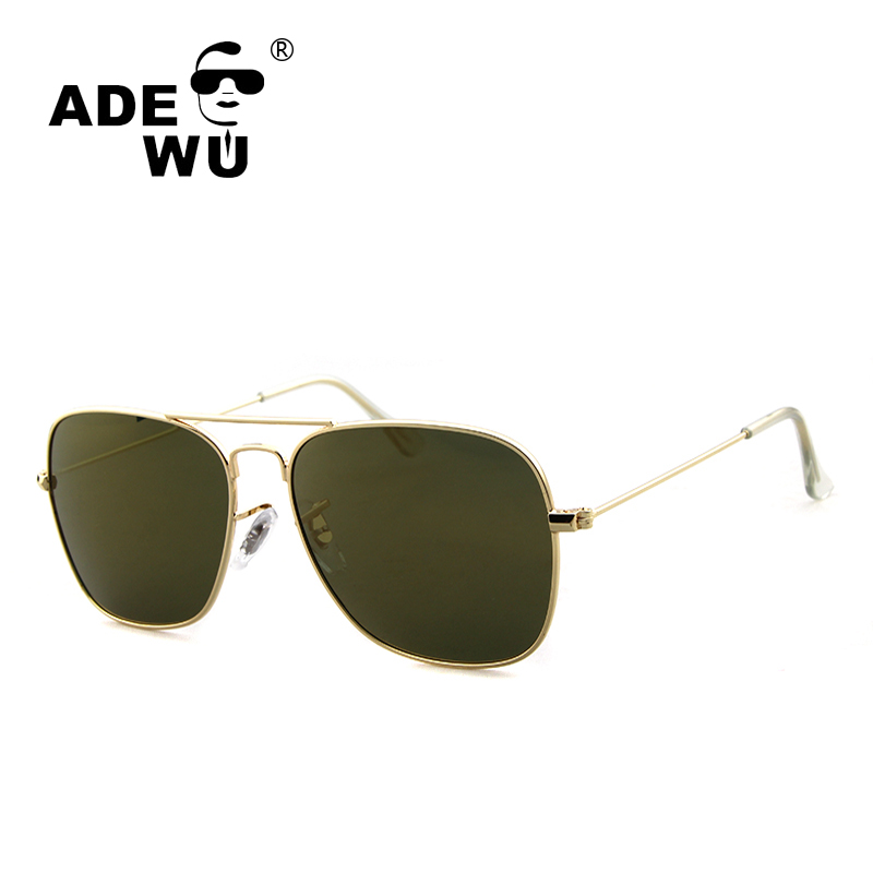 bb89333c31 ADE WU Polarized Sunglasses Women Brand Anti-Reflective UV400 Male Female  Aviator Sun Glasses For Women gafas de sol polarizadas