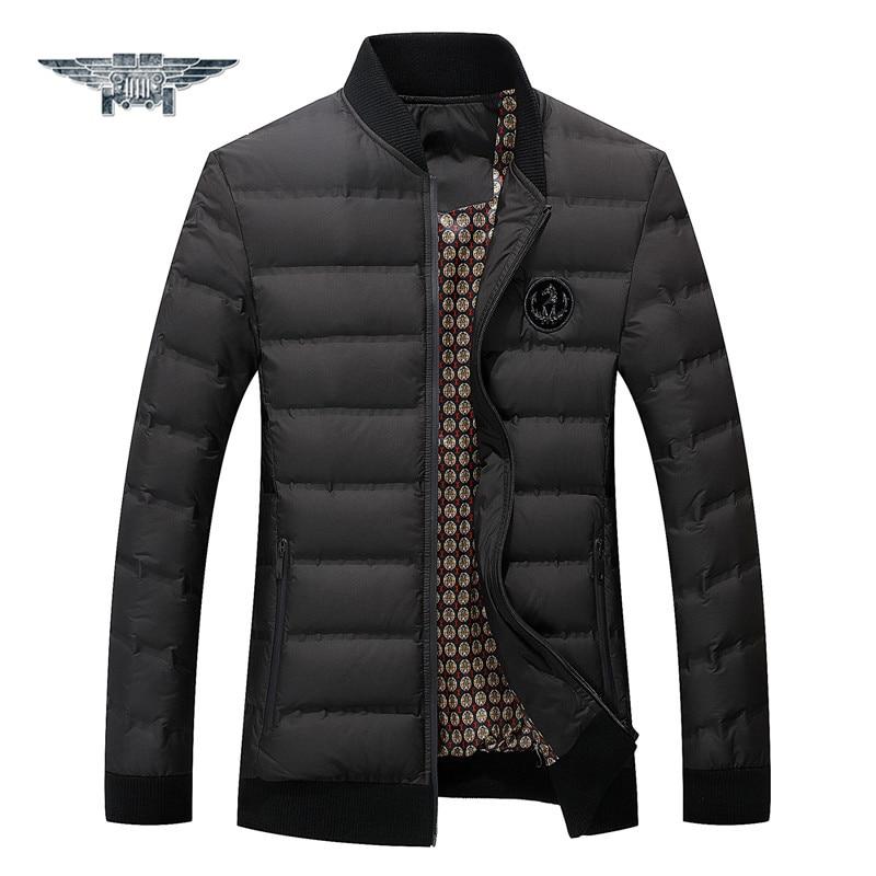 Hot 2016 Stylish Winter Ultra Light Duck Down Jacket Men New Brand Slim Fit Mens Jackets & Coats Parka Casual 3XL#018801s