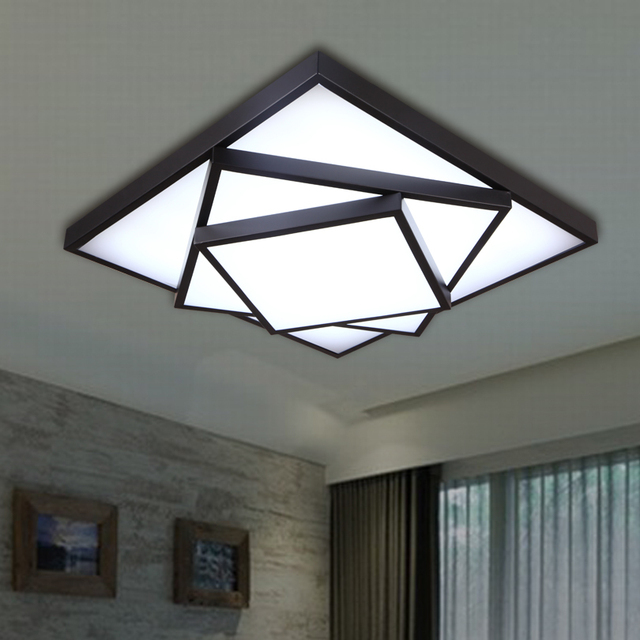 Square Led Ceiling Light Modern Brief DIY Ceiling Lamp Dimming Ceiling  Lighting For Bedroom Study Room