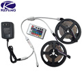 10M 15M 20M 3528 RGB LED Strip Lights non waterproof SMD Flexible RGB Ribbon Tape One Set +Remote Controller+DC 12V Power Supply